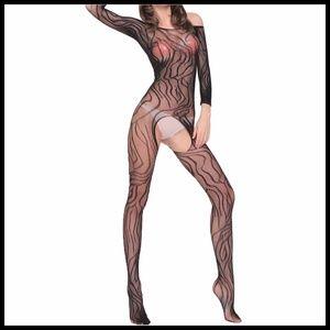 Miss Babydoll Intimates & Sleepwear - ❤NEW Sexy Open Crotch Bodystocking Lingerire #L007